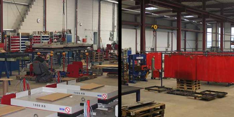 Photos from production: final assembly | steel construction